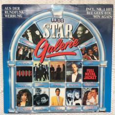 Wea star galerie COMPILATIE hituri DISC VINYL LP muzica synthpop rock house 1987, VINIL