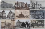 9 CARTI POSTALE CLUJ (AUSTRO-UNGARIA SI INTERBELIC), Ambele, Romania 1900 - 1950