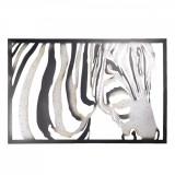 Decoratiune de perete din fier negru gri 85 cm x 3 cm x 55 h, Clayre & Eef