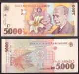Romania 1998 - 5000 lei UNC
