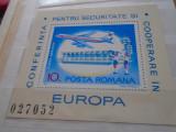 1977  LP  938  CONFERINTA PENTRU SECURITATE SI COOPERARE IN EUROPA, Nestampilat