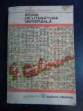 Studii De Literatura Universala - George Calinescu ,543211