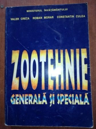 Zootehnie generala si speciala- Valer Creta, Roman Morar