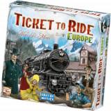 Joc de Societate Ticket to Ride Europe in Limba Romana, Asmodee
