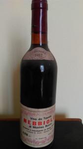 VIN DE COLECTIE NEBBIOLO 1982