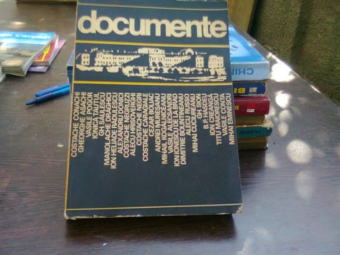 Documente - Gh. Ungureanu