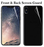 Folie Silicon TPU Apple iPhone X Fullcover Front+Back Ecran Display LCD