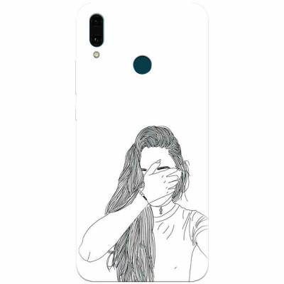 Husa silicon pentru Huawei Y9 2019, Dont Look foto