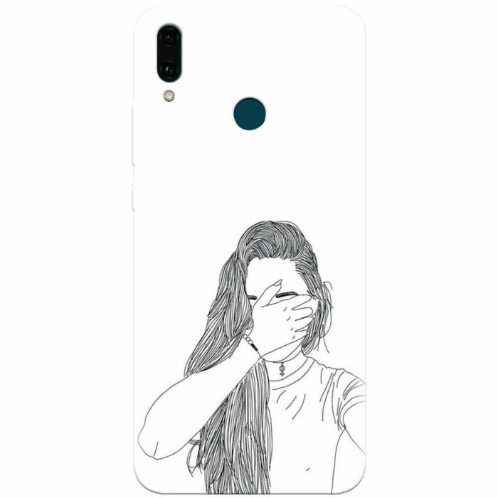 Husa silicon pentru Huawei Y9 2019, Dont Look