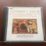 johann s. bach slovak chamber orchestra brandenburg concerts 4-6 cd disc muzica