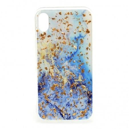 Husa Marble Impact pentru Samsung Galaxy S9 Plus, TPU+Acryl, Model Frost