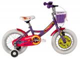 Bicicleta Copii Dhs 1402 Violet Inchis 14
