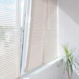 Jaluzea orizontala alb pvc ,30-130cm