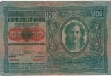 Bancnote Austro-Ungaria - 100 Koroane 1912