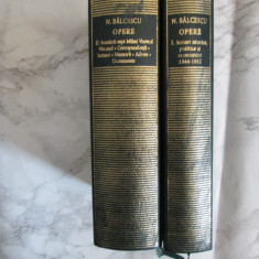 Nicolae Bălcescu. Opere (Vol. I+II), ACADEMIA ROMANA