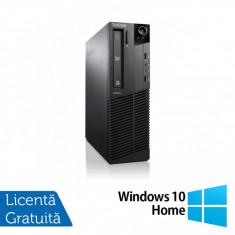 Calculator Lenovo ThinkCentre M92p SFF, Intel Core i5-3470 3.20GHz, 8GB DDR3, 500GB SATA, DVD-RW + Windows 10 Home