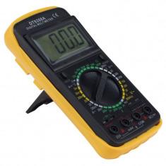 Multimetru digital 9V, display LCD, 32 pozitii, oprire automata, cablu de masurare