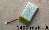 Baterie / Acumulator drona Syma LiPo 3.7v 1400mAh de mare capacitate