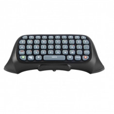 Tastatura chatpad Dobe wireless bluetooth compatibila cu controllerul pentru XBOX 360, negru, Telecomanda
