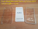 Husa silicon fata spate Samsung Galaxy A20 E  calitate si ieftin la pret