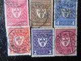 timbre deutsches reich -EXPOZITIA MUNCHEN-SERIE  COMPLETA-STAMPILATE