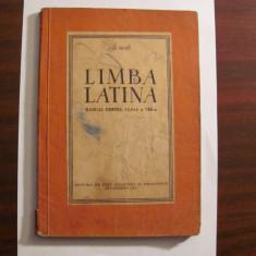 """AF - Gh. GUTU """"Limba Latina / Manual pentru Clasa a VIII - a"""" / 1961"""
