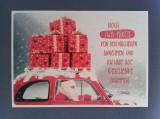 Cumpara ieftin CARTE POȘTALĂ GERMANIA GLITTER CRĂCIUN WEIHNACHT NIKOLAUS - NECIRCULATĂ, Necirculata, Printata