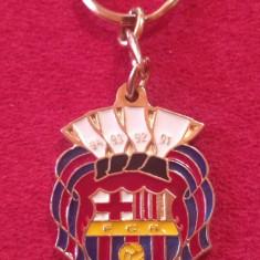 Breloc de colectie (metalic) fotbal - FC BARCELONA