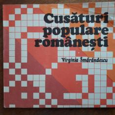 Cusaturi populare romanesti - Virginia Smarandescu / C44P