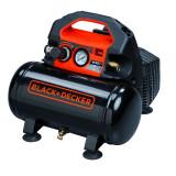 Cumpara ieftin Compresor fara ulei Black+Decker 6L 0.5Hp 0.5Kw 8 bar - BD 55/6