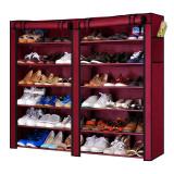 Dulap textil dublu Shoe Cabinet 2712, 120 x 30 x 118 cm