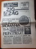Ziarul zig zag 26 noiembrie-2 decembrie 1990-primul 1 decembrie dupa revolutie