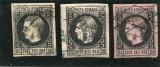 1866,67  ,  ROMANIA  , Lot Carol I cu Favoriti 20 Par , H. subtire si H. Groasa