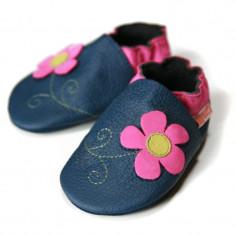 Pantofi cu talpa moale Liliputi Spring Flower