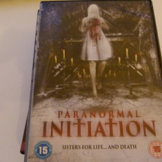 Paranormal initiation - dvd, Altele