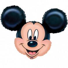 Balon folie figurina mare cap Mickey Mouse - 69x53cm, Amscan 07764