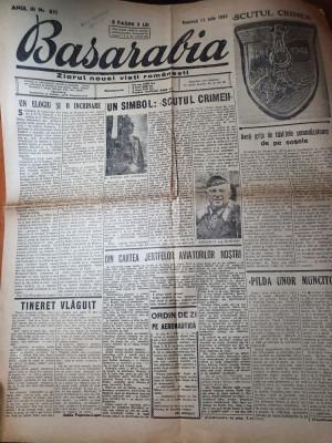 basarabia 11 iunie 1943-maresalul antonescu a primit de la hitler scutul crimeii foto