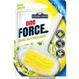 Cumpara ieftin Odorizant WC GENERAL FRESH One Force Lemon, 40 g, Bile Odorizante Toaleta, Odorizant Toaleta, Odorizant Anticalcar pentru WC, Odorizant pentru Toaleta