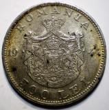 R.184 ROMANIA MIHAI I 500 LEI 1944 ARGINT 12g