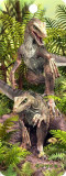 Semn de carte 3D - Raptors