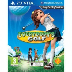 Everybody Golf PS Vita