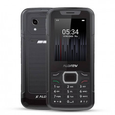 Telefon mobil Allview M10JUMP 3G Dual SIM certificare IP67 Ecran 2.8inch Radio FM Bluetooth 2.0 Negru