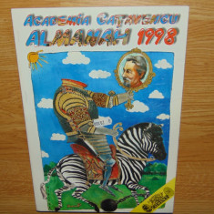 ALMANAH ACADEMIA CATAVENCU ANUL 1998