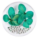 Cumpara ieftin Flori Uscate Unghii LUXORISE cu cristale - Floral Fairytale #03