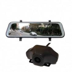 """Oglinda Retrovizoare Star E10, 4G, 10"""" HD, Android 8.1, Camera Fata, Spate, Wireless, Bluetooth, Parcare, ADAS, GPS"""