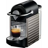 Espressor Nespresso Pixie Titan C60-EU-TI-NE, 19 bari, 1260 W, 0.7 l, Gri + 14 capsule cadou
