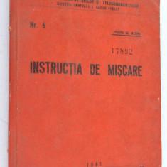 Instructia de miscare - 1961 CFR nr. 5