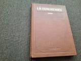 I. S. Turgheniev OPERE VOL 2 UN CUIB NE NOBILI /RUDIN,RF7/1, I.S. Turgheniev