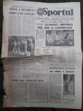 Ziarul Sportul din 29 august 1975
