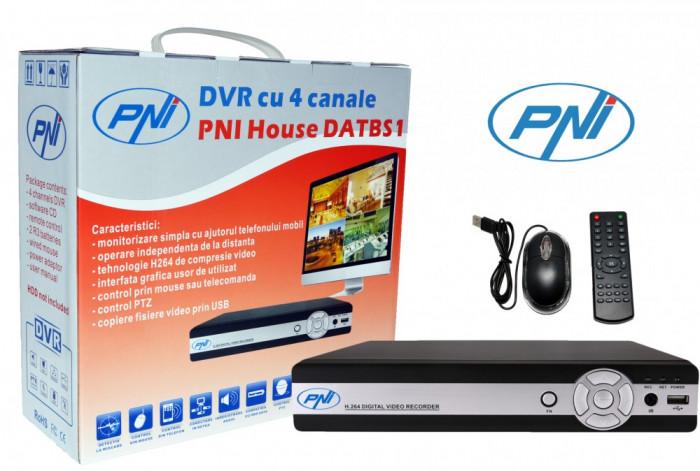 Resigilat : DVR cu 4 canale model PNI House DATBS1